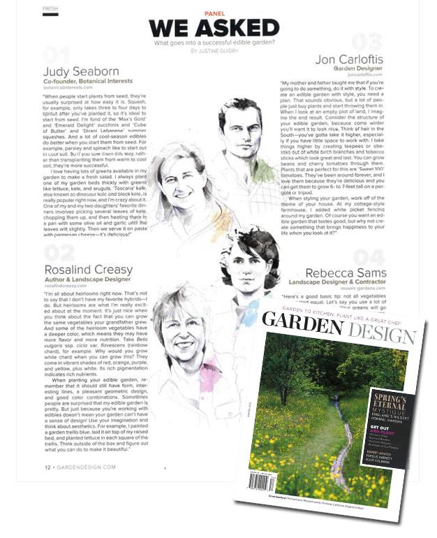 on newsstands now garden design magazine spring 2015
